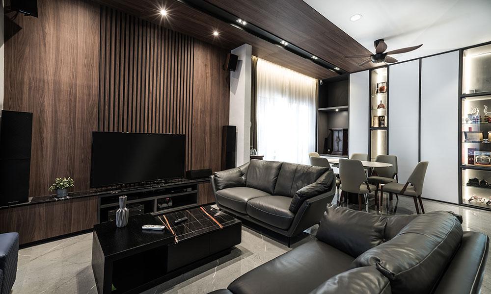 Modern Contemporary Element Garden Penang Legno Id Penang Interior Design Company Interior Design Build Firm