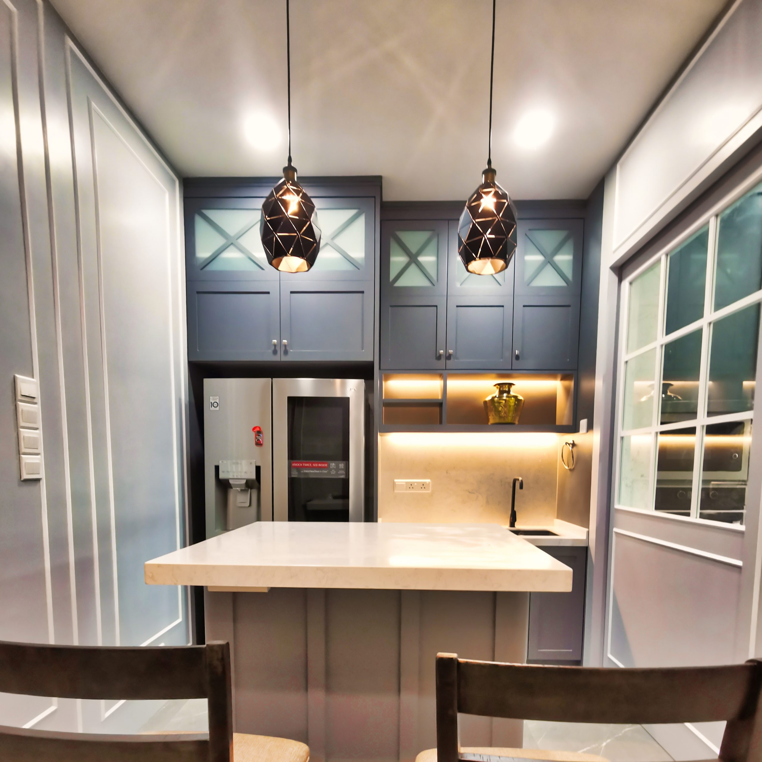 Legno Artistic Dry Wet Kitchen Design For Limited Spaces Penang Id